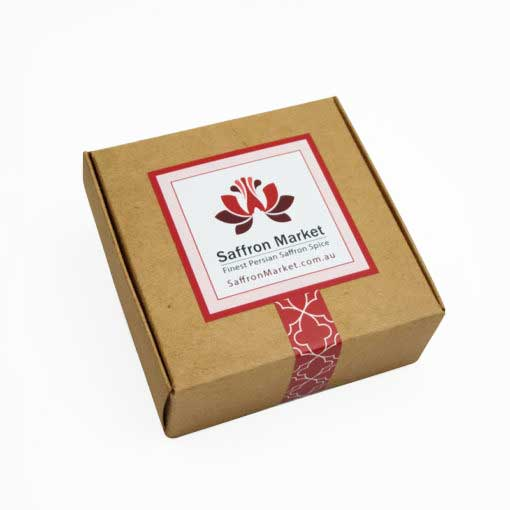 10 gram saffron box