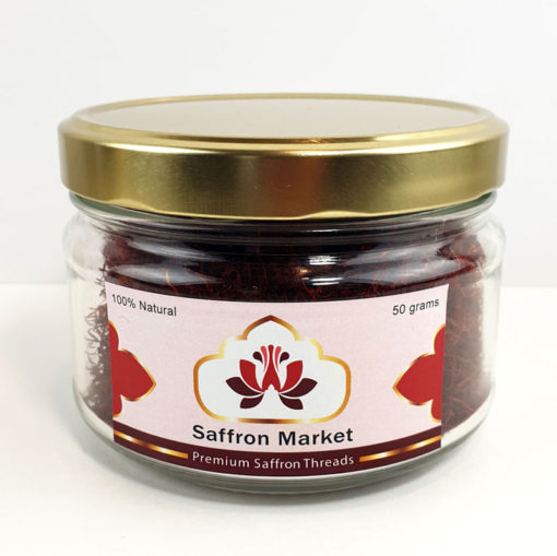 Premium Saffron Threads 50 grams new