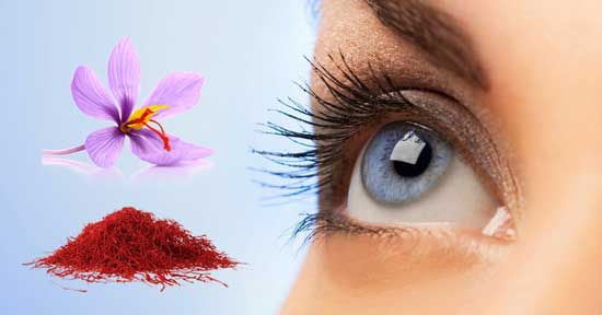 saffron eyesight benefits