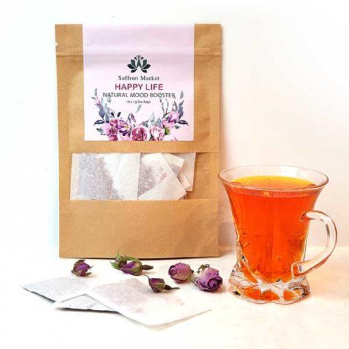 Saffron Rose Tea